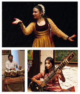 Danse et musiques Kathak @ Salle des fêtes d'Anché